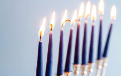Megünnepelte a Hanukát, a fény ünnepét